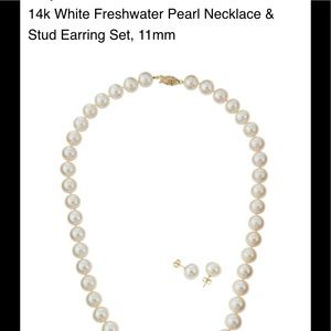 Jewelry - White 11mm Freshwater Pearl Necklace